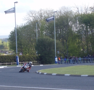 John McGuiness at the North West 200