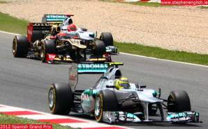 Nico-Rosberg-Romain-Grosjean-Michael-Schumacher-Barcelona-race-2012