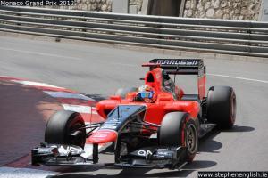 Timo-Glock-cornering-Monaco-FP3-2012