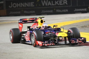 Mark Webber Singapore FP2 2012