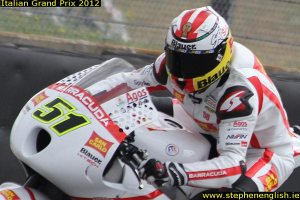 Michele-Pirro-closeup-Mugello-FP3-2012