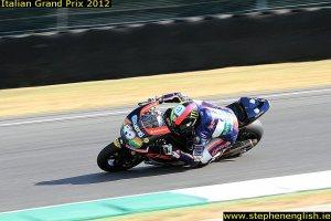 Pol-Espargaro-cornering-Mugello-Moto2-Warmup-2012