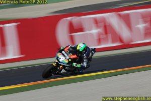 Pol Espargaro Valencia Moto2 Qualifying 2012