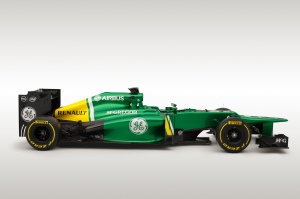 Caterham CT03 profile