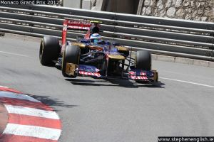 Jean-Eric-Vergne-wheel-off-ground-Monaco-FP3-2012