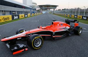 Marussia launch 2013