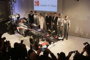 Sauber C32 Launch