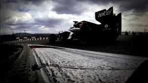 Nico Hulkenberg Barcelona test 2013