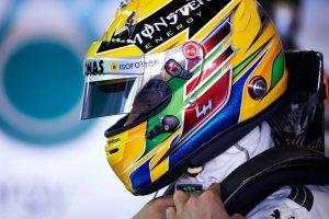 Lewis Hamilton helmet 2013