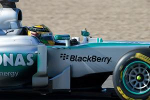 Lewis Hamilton Jerez Test 2013