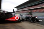 Sergio Perez Barcelona testing 2013