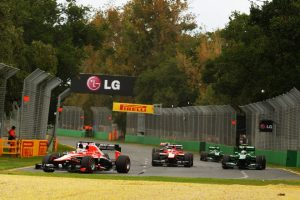 Jules Bianchi leads F1 rookie Australi Race 2013