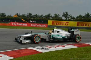 Lewis Hamilton Malaysia Qualifying 2013