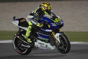Valentino Rossi Qatar MotoGP Race 2013