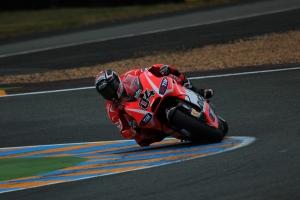 Andrea Dovizioso Le Mans Qualifying 2013 (2)