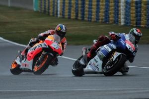 Dani Pedrosa Jorge Lorenzo Le Mans MotoGP Race 2013 (2)