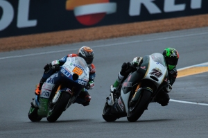 Hector Barbera Michael Laverty Le Mans MotoGP Race 2013