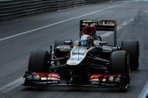 Romain Grosjean Monaco FP3 2013