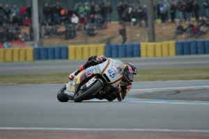 Scott Redding Le Mans Moto2 Qualifying 2013