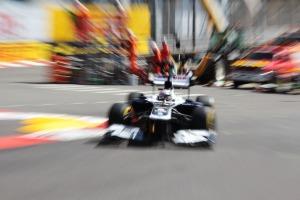 Pastor Maldonado Monaco FP3 2013