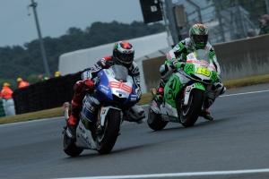 Jorge Lorenzo Alvaro Bautista Le Mans MotoGP Race 2013