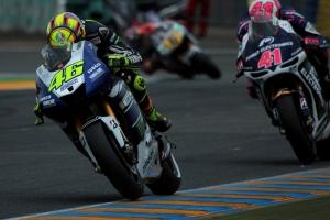 Valentino Rossi Aleix EspargaroLe Mans MotoGP Qualifying 2013