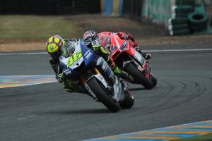 Valentino Rossi Le Mans MotoGP Qualifying 2013