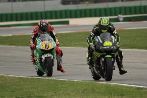 cal crutchlow stefan bradl 2 misano motogp race 2013