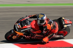 colin edwards misano motogp fp2 2013
