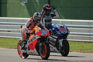 dani pedrosa jorge lorenzo practice starts misano motogp qualifying 2013