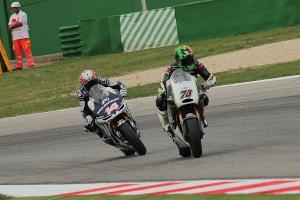 michael laverty randy de puniet 2 misano motogp race 2013