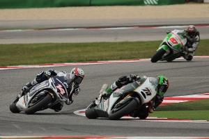 michael laverty randy de puniet misano motogp race 2013