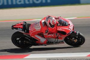 nicky hayden misano motogp qualifying 2013