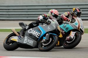 scott redding johann zarco misano moto2 race 2013