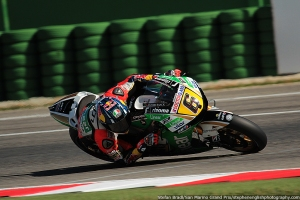 stefan bradl 2 misano motogp qualifying 2013
