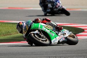 stefan bradl misano motogp fp2 2013