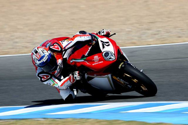 claudio corti jerez wsbk friday 2014