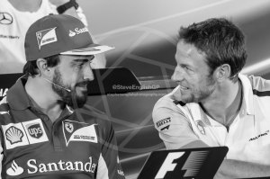 fernando alonso jenson button abu dhabi press conference 2014 (2)