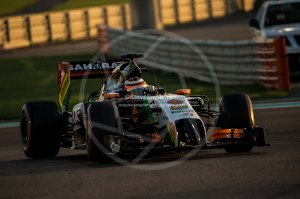 nico hulkenberg abu dhabi saturday 2014 (2)