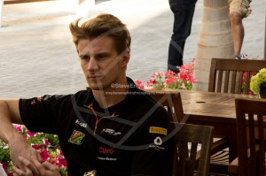 nico hulkenberg abu dhabi thursday 2014