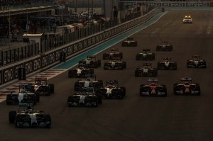 race start abu dhabi sunday 2014
